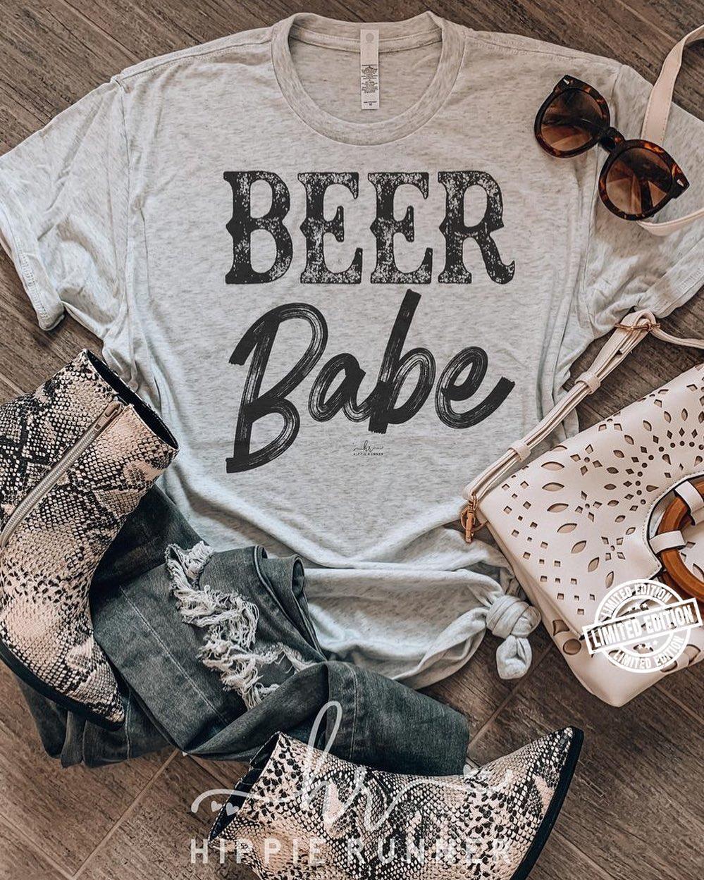Beer babe shirt