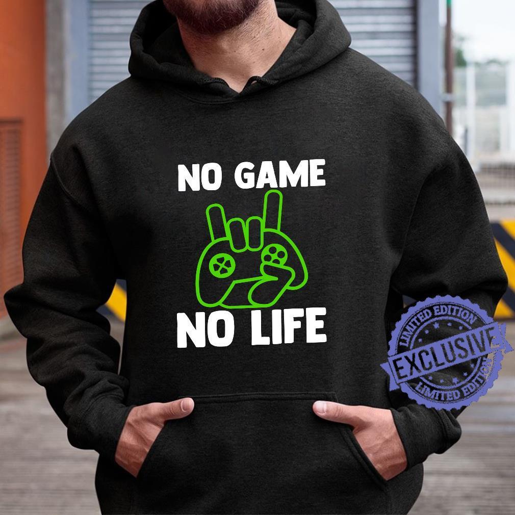 Video Game Esports No Game No Life Gamer Shirt hoodie