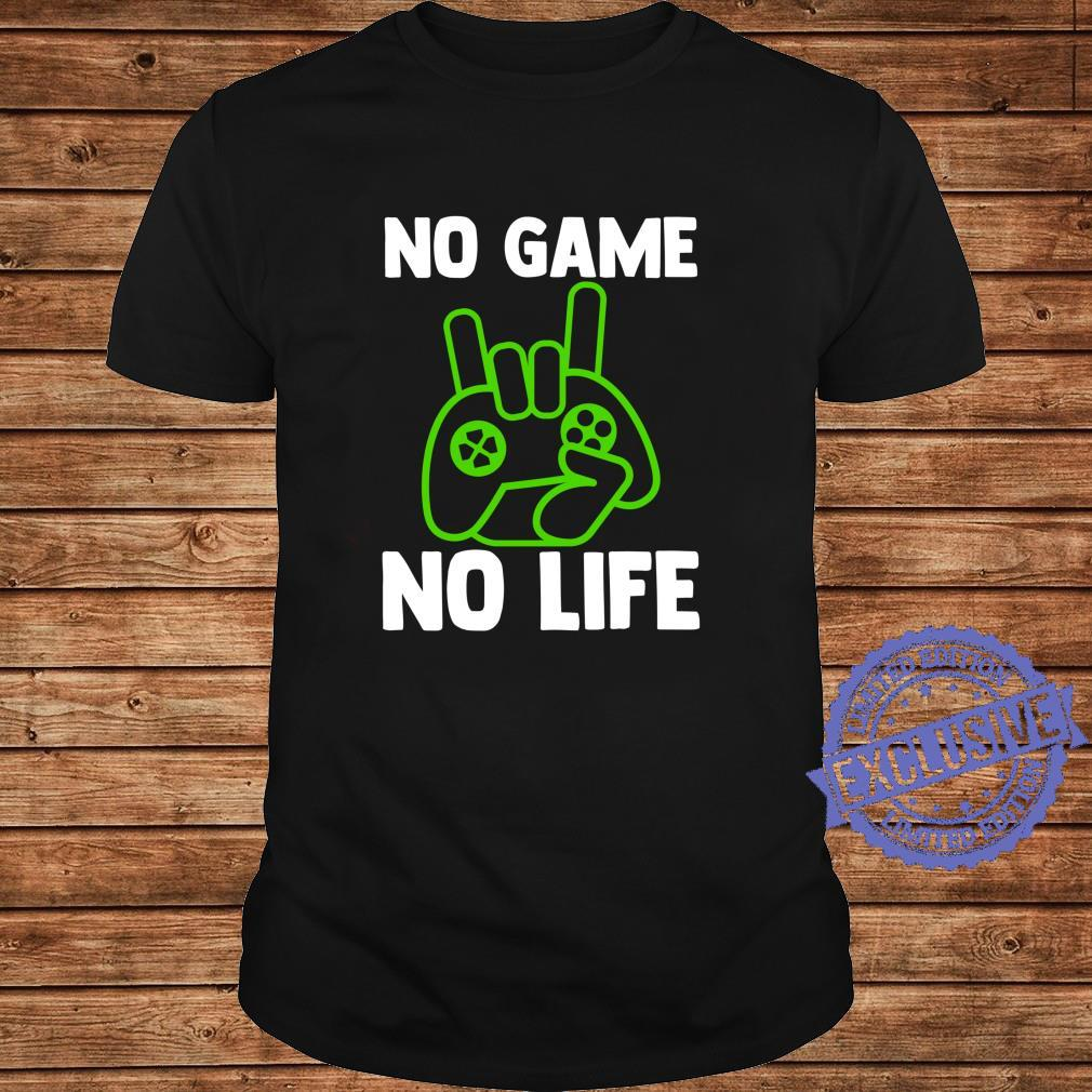 Video Game Esports No Game No Life Gamer Shirt long sleeved